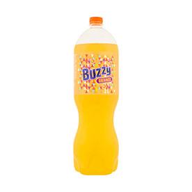 Buzzy Napój gazowany o smaku pomarańczowym 2 l