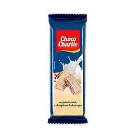 Choco Charlie Czekolada biała z chrupkami kakaowymi 60 g