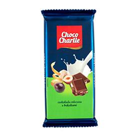 Choco Charlie Czekolada mleczna z bakaliami 100 g