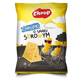 Chrup Chrupki o smaku serowym 125 g