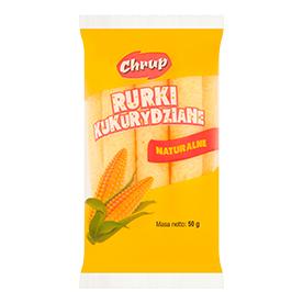 Chrup Rurki kukurydziane naturalne 50 g