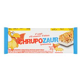 Chrupozaur Baton zbożowy cynamonowy z polewą mleczną 25 g