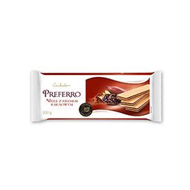Conchador Preferro Wafle z kremem kakaowym 200 g
