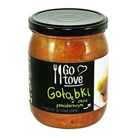 GO tove Gołąbki w sosie pomidorowym 500 g