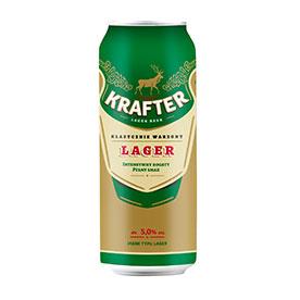Krafter Piwo jasne typu lager 500 ml