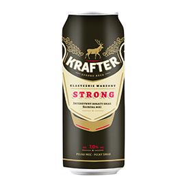 Krafter Strong Piwo jasne 500 ml