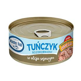 Master Fish Tuńczyk rozdrobniony w oleju 170 g