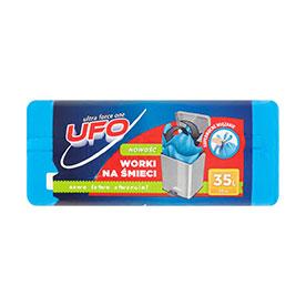 UFO Worki na śmieci z uszami 35 l 30 sztuk