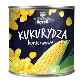 Zaczarowany Ogród Kukurydza konserwowa 340 g