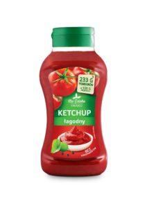 Na Szlaku Smaku Ketchup łagodny 560 g