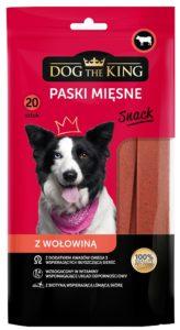 Dog The King paski mięsne z wołowiną 200g
