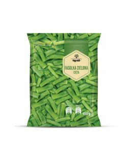 Zaczarowany Ogród Fasola szparagowa zielona cięta 450 g