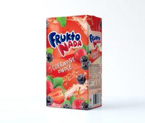 Fruktonada napój czerwone owoce 2 L