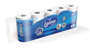 Lanna Premium Papier toaletowy 10 rolek