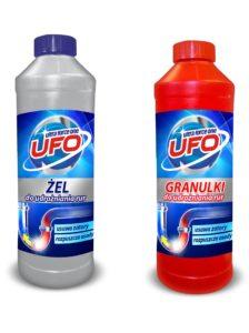 Granulki lub żel do udrożniania rur UFO 800g/1kg
