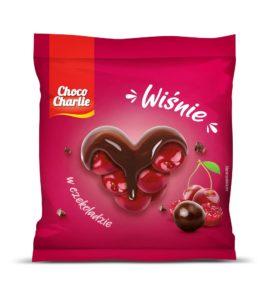 Choco Charlie Wiśnia w czekoladzie 80g