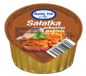 Master Fish sałatka pikantna z makrelą 130g