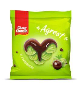 Choco Charlie Agrest w czekoladzie 80 g
