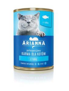 Arianna Karma dla kota z rybą 415 g