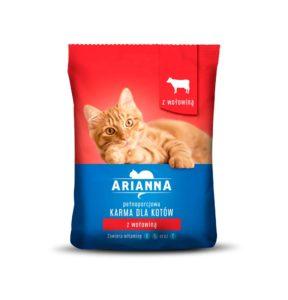 Arianna Karma sucha dla kotów z wołowiną 1 kg