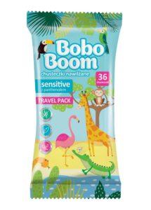 Bobo Boom Chusteczki nawilżane travel pack 36 szt
