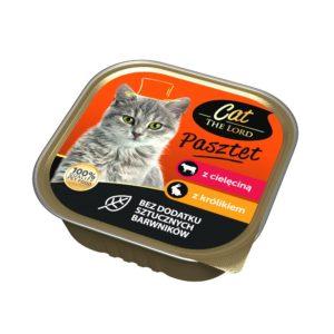 Cat The Lord Pasztet dla kota z cielęcina i królikiem 100 g