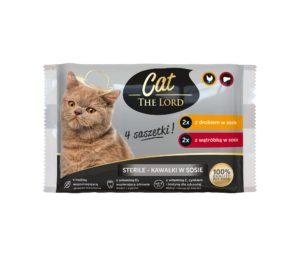 Cat The Lord Saszetki dla kota Sterille 4x100 g