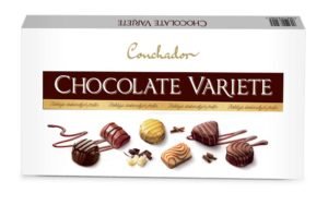 Conchador Praliny Chocolate Variete 400 g