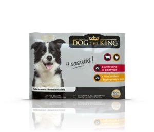 Dog The King Saszetka dla psa 4x100 g