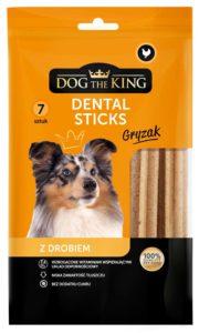 Dog The King Dental Sticks z drobiem 7 szt.