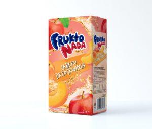 Fruktonada Napój jabłko-brzoskwinia 2 L