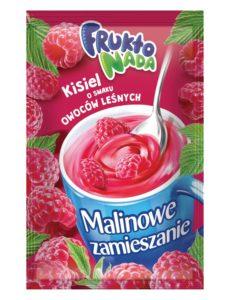 Fruktonada Kisiel instant o smaku owoców leśnych Malinowe zamieszanie 30 g