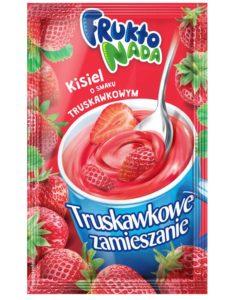 Fruktonada Kisiel instant o smaku truskawkowym Truskawkowe zamieszanie 30 g