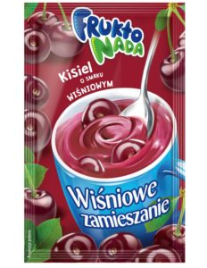Fruktonada Kisiel instant o smaku wiśniowym Wiśniowe zamieszanie 30 g