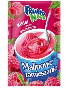 Fruktonada Kisiel instant o smaku malinowym Malinowe zamieszanie 30 g
