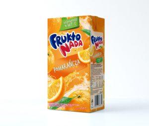 Fruktonada Napój pomarańczowy 2 L
