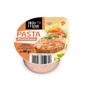 Go tove Pasta łososiowa 80 g