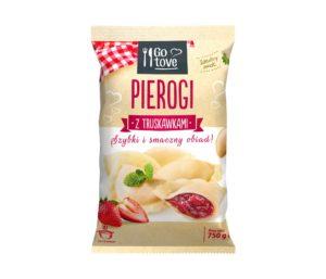 Go tove Pierogi z truskawkami 750 g