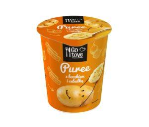 Go tove Puree z boczkiem i cebulką 58 g