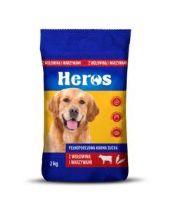 Heros Karma sucha dla psa z wołowiną i warzywami 2 kg
