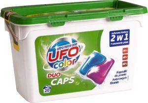 UFO Kapsułki do prania kolorowych tkanin 20 szt