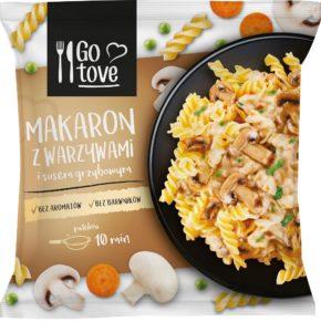 Go tove Makaron z warzywami i sosem grzybowym 450 g