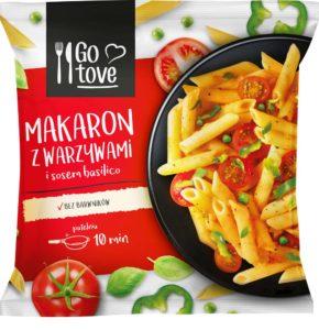 Go tove Makaron z warzywami i sosem basilico 450 g