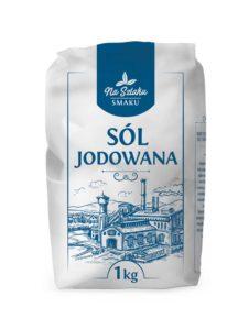 Na Szlaku Smaku Sól jodowana 1 kg