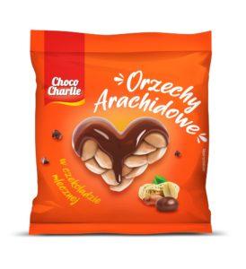 Choco Charlie Orzechy Archaidowe w czekoladzie mlecznej 100 g