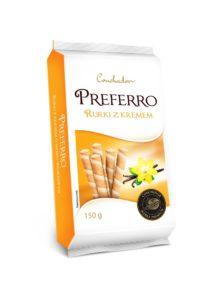 Conchador Preferro Rurki z kremem o smaku waniliowym 150 g