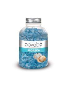 Povabe Sól do kąpieli morska 600 g