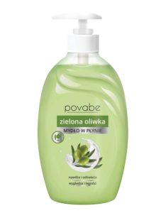 Povabe Mydło w płynie zielona oliwka 500 ml