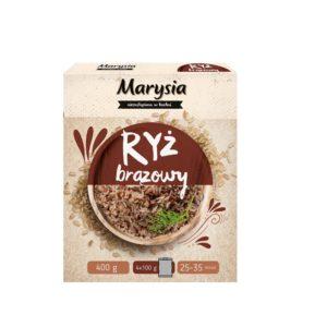 Marysia Ryż brązowy długoziarnisty 4x100 g