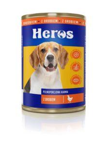 Heros Karma dla psa z drobiem 1250 g